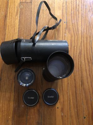 Minolta MD mount lenses for Sale in St. Louis, MO
