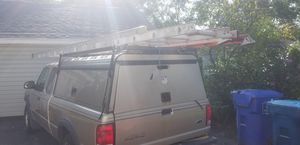 Camper w ladder racks and storage shelf (truck goes with) for Sale in Melrose Park, IL