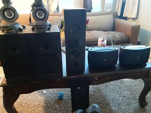 Bose & Boston acc & klipsch pioneers Yamaha great condition for Sale in Denver, CO