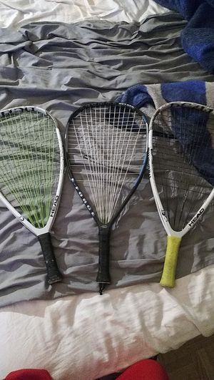 3 tennis rackets for Sale in Dallas, TX