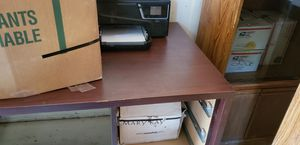 Cherry stained desk for Sale in Alpine, CA