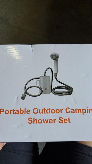 Portable Outdoor Camping Shower Set for Sale in Doraville, GA