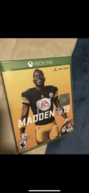 Madden 19 for Sale in Moreno Valley, CA