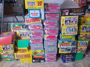 Huge lot of baseball basketball football sports cards for Sale in Hawthorne, CA
