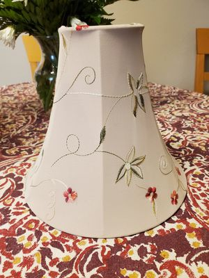 "Floral lamp shade 9.5x10"" for Sale in Oklahoma City, OK"