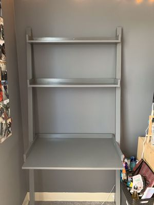 EQ3 ladder desk/leaning desk grey for Sale in San Francisco, CA