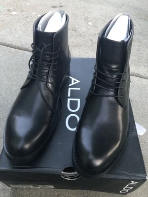 Aldo men's boots new in the box for Sale in Denver, CO