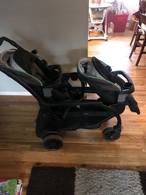 Greco Double Stroller (Very Good Condition) for Sale in Franklin Township, NJ