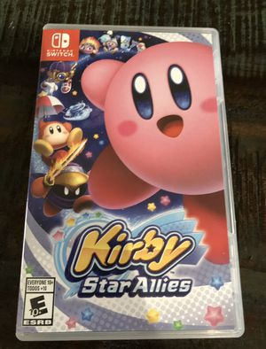 Nintendo switch Kirby allies for Sale in Independence, MO