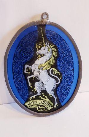 Vintage Mon Droit Unicorn Suncatcher for Sale in Surprise, AZ
