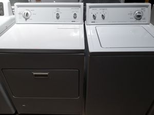 Kenmore washer and dryer nice condition working perfectly clean and neat warranty and deliver for Sale in Arbutus, MD