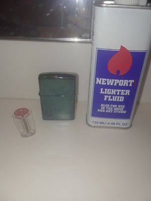 Zippo Lighter W/ fluid & sparks for Sale in Phoenix, AZ