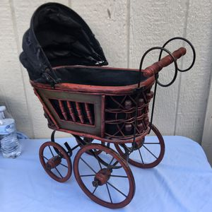 Antique Doll Stroller Carriage for Sale in Balch Springs, TX
