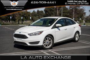 2016 Ford Focus for Sale in El Monte , CA