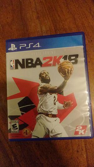 NBA 2K18 for Sale in Montgomery, AL