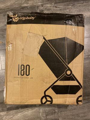 Red and black ergo baby stroller reversible brand new open box assembly required for Sale in Los Angeles, CA