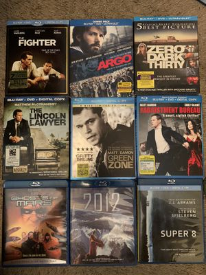 Blu ray movies for Sale in San Diego, CA