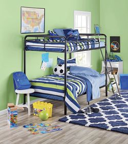 TWIN /TWIN BUNK BEDS WITH MATTRESSES for Sale in Houston,  TX