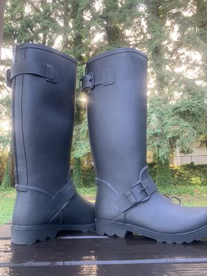 Steve Madden Icestorm. Synthetic fur lined Rain Boots 8M. New. No box for Sale in Stanwood, WA