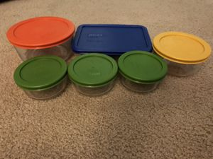 6 piece Pyrex set for Sale in Vancouver, WA