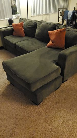 Grey Sofa Chaise/Couch for Sale in Arlington, VA