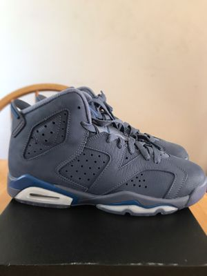 Brand new Nike air Jordan 6 retro diffused blue shoes youth 5.5y, women's 7 for Sale in La Mesa, CA