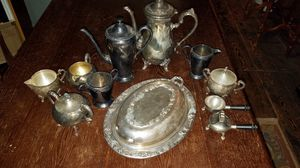 Vintage Silver and Silver Plate pieces for Sale in Chicago, IL