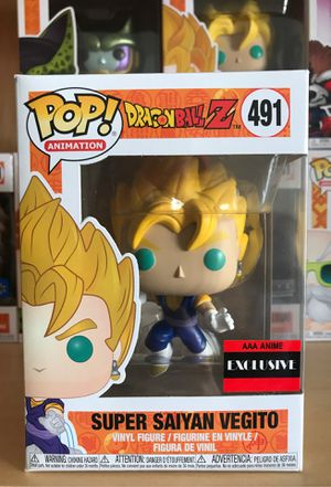 Dragonball Z Funko Pop Super Saiyan Vegito for Sale in Plano, TX