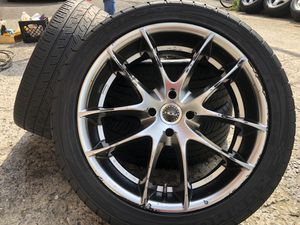 ROH rims and tires 225/45zr/18 for Sale in Pleasant Mount, PA