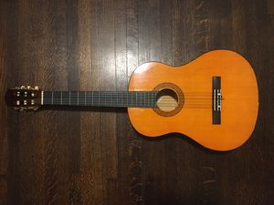 Lovely Acoustic Guitar (with stand and case) for Sale in New York, NY