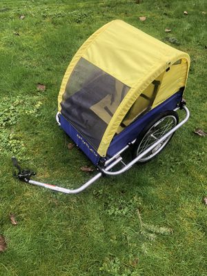 Burley d'lite kids bike trailer for Sale in Snohomish, WA