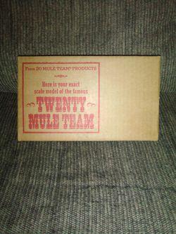 Vintage Twenty Mule Team Model In Box for Sale in Martinsburg,  WV