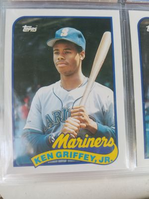 1989 topps traded ken Griffey jr. rc for Sale in Sacramento, CA