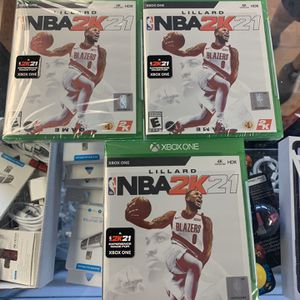NBA 2K 21 XBOX ONE SEALED for Sale in Fort Lauderdale, FL