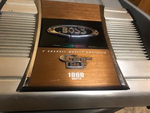 BOSS AMPLIFIER for Sale in Hubbard, OR