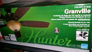 Hunter ceiling fan with light. for Sale in Ashburn, VA