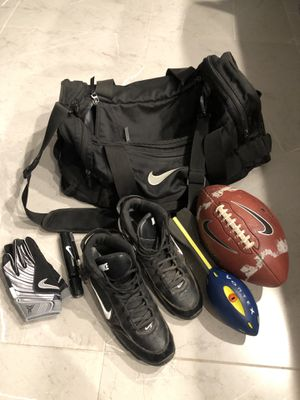 Nike football gear bag hull for Sale in Los Angeles, CA