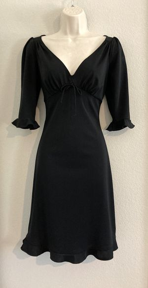NWOT Betsey Johnson black dress. Sz Small for Sale in Las Vegas, NV