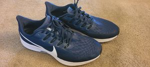 Nike Air Zoom Pegasus 36 / Blue / Size 10 / Men Running Shoes / (Grade A) for Sale in Westminster, CO