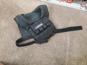 50 lb. V-FORCE long weight vest for Sale in Hesperia, CA