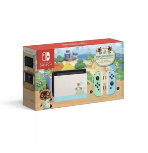 Nintendo Switch Console Bundle - Animal Crossing: New Horizons for Sale in Tyngsborough, MA