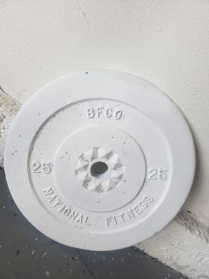2×25lbs weights for Sale in Moreno Valley, CA