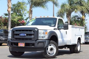 2016 Ford Super Duty F-450 XL F450 Single Cab Utility Gas (22700) for Sale in Fontana, CA
