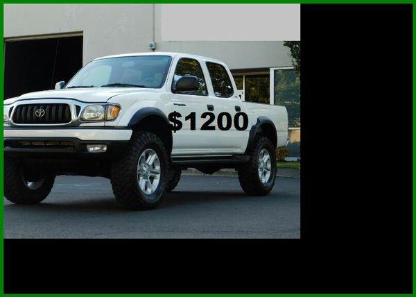 Price$1200 TacomaSR5