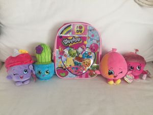NEW Shopkins & Shopkins Backpack for Sale in Westerville, OH