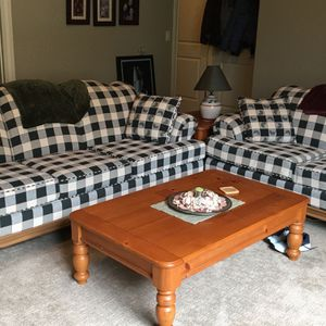 Couch, Loveseat, Coffee Table & 2 End Tables for Sale in Washougal, WA