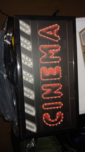 Led cinema sign for Sale in Garden Grove, CA