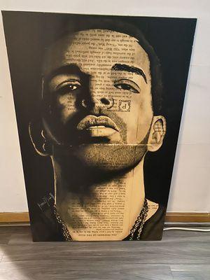 Drake Art Canvas for Sale in East Brunswick, NJ