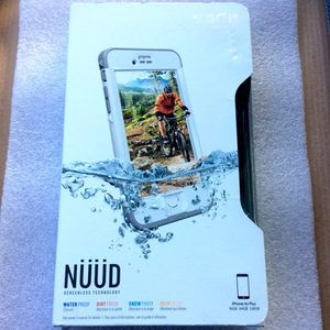 iPhone 6s Plus Lifeproof NUUD Screenless Drop-Proof Technology (White/Gray) for Sale in San Diego, CA