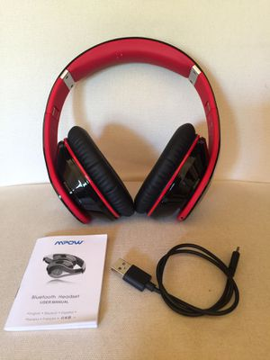Mpow foldable bluetooth headset BH059A New never used for Sale in San Antonio, TX